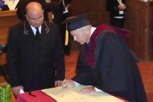 XX Conference and the signing ceremony of the Magna Charta of Universities. Bologna, Italy